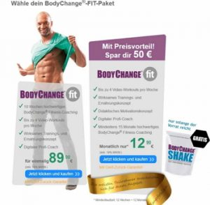 Bodychange kosten